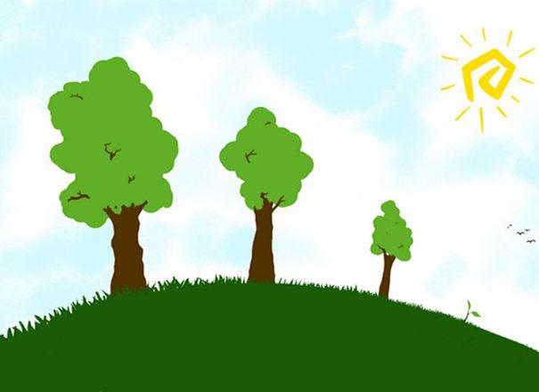 树比喻弱视